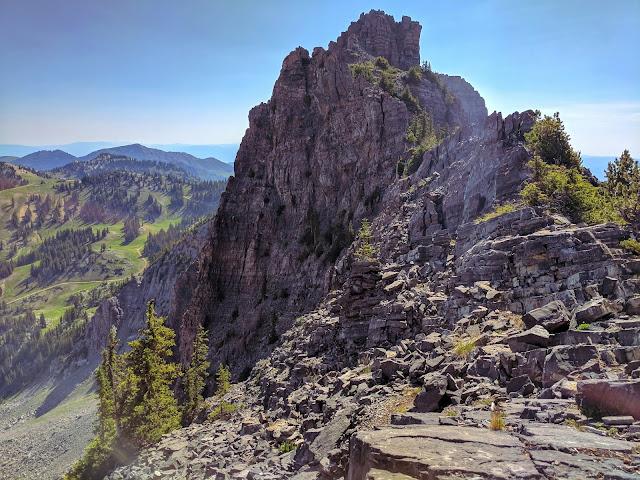 Devil's Castle Alta, Utah