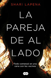 "Reseña: ""La pareja de al lado"" - Shari Lapena"