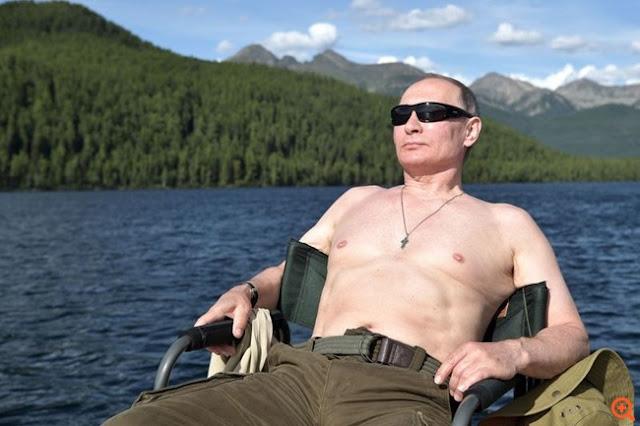 Γιατί ο Putin χωρίς μπλούζα είναι αυτός που γελάει τελευταίος