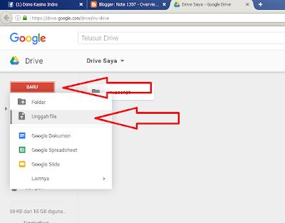 Cara Upload File Ke Google Drive
