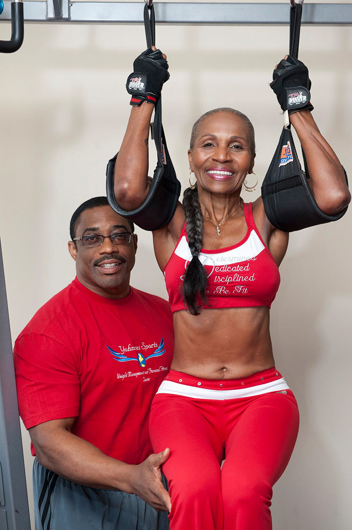 The World's Oldest BodyBuilder Just Turned 80! Here Are Her Secrets… - Her former trainer is Mr. Universe