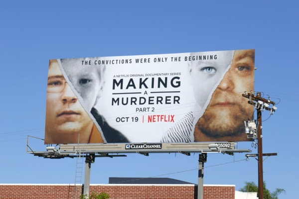 Making a Murderer Part 2 billboard