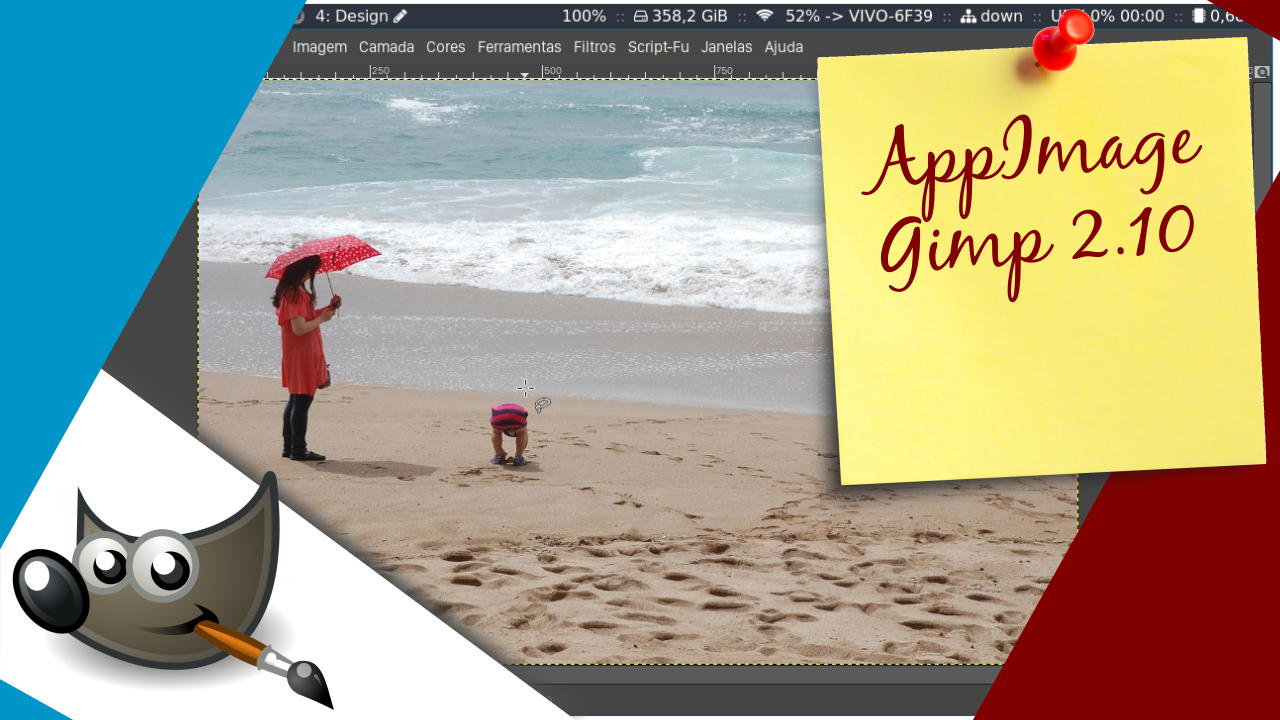AppImage do Gimp 2.10