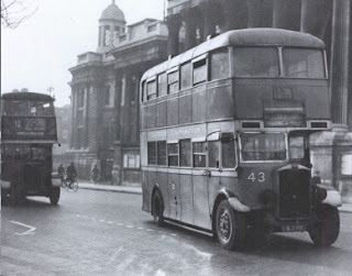 Public Transport Experience: Wartime Scene for Southey Green