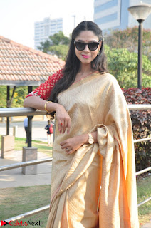 Angana Roy in Silk Saree at Teaching Tree Carnival .xyz 036.JPG