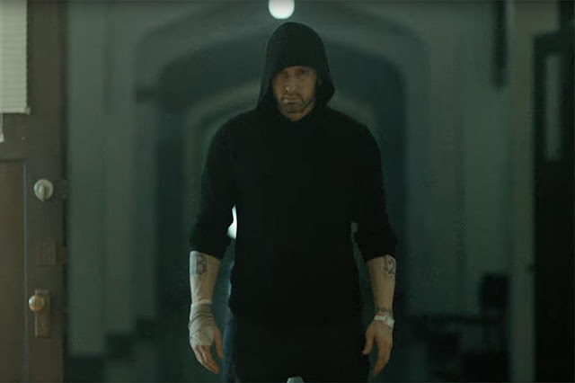 "Eminem Unveils Bloody ""Framed"" Music Video"