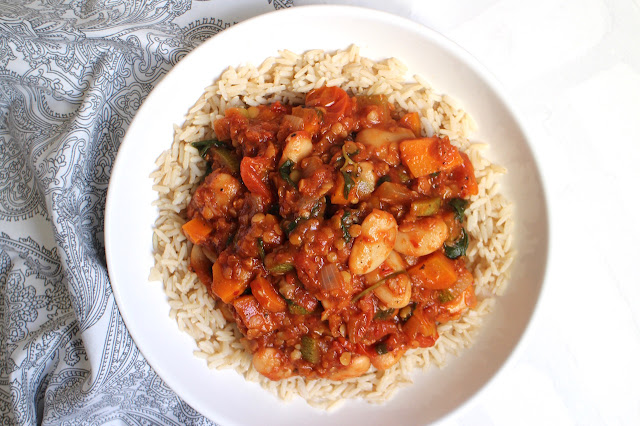 Vegan butter bean dahl recipe