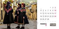 calendario 2019. febrero
