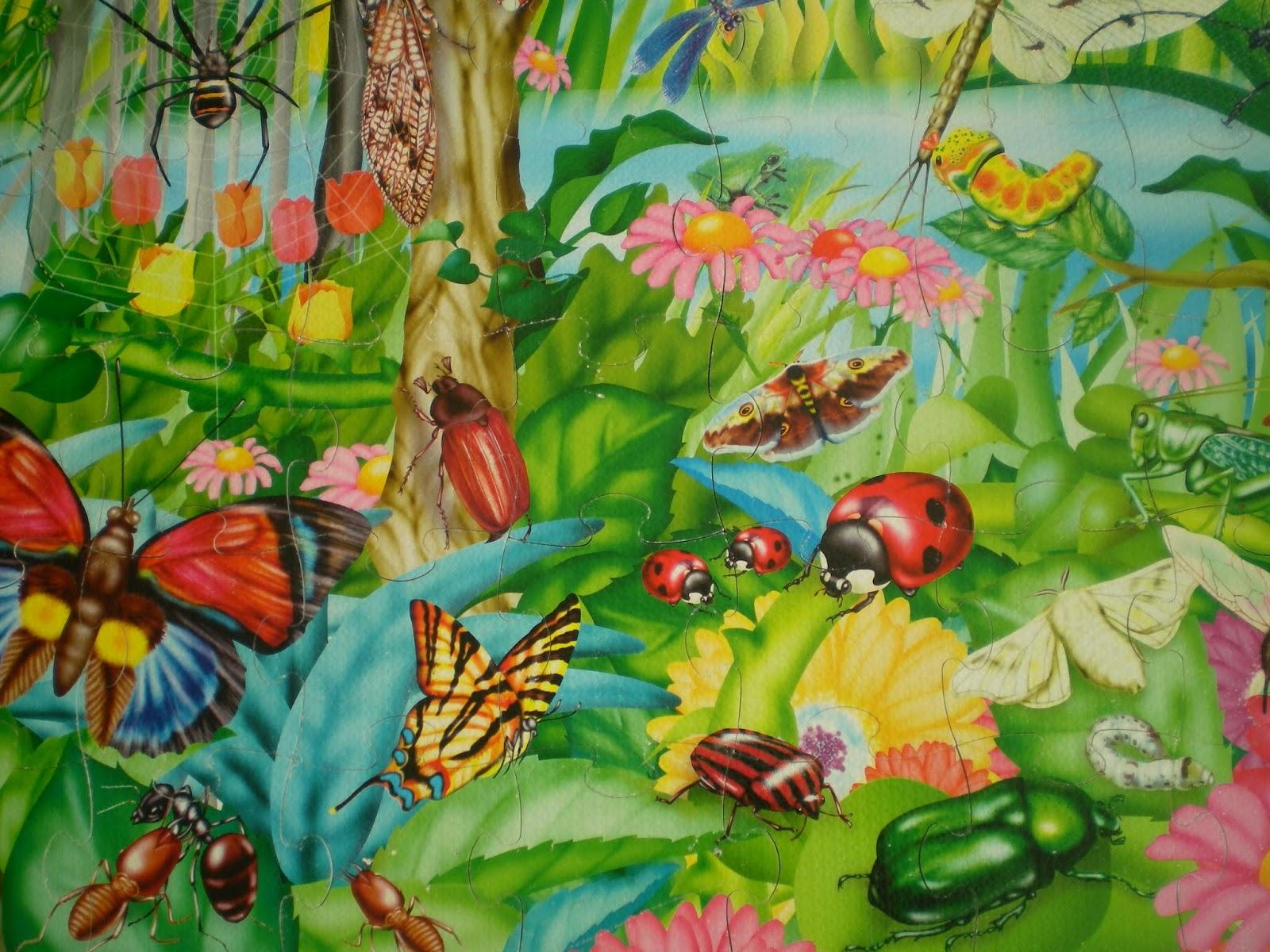 картинка сада с насекомыми предлагают устроить самосуд