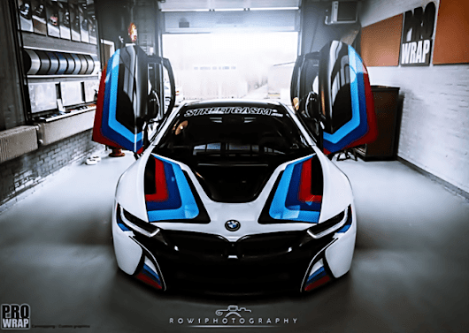 BMW i8 M: Motorsport Look at the Gullwing