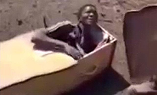 White farmers who forced black man into a coffin
