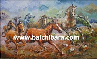 Lukisan kuda 1