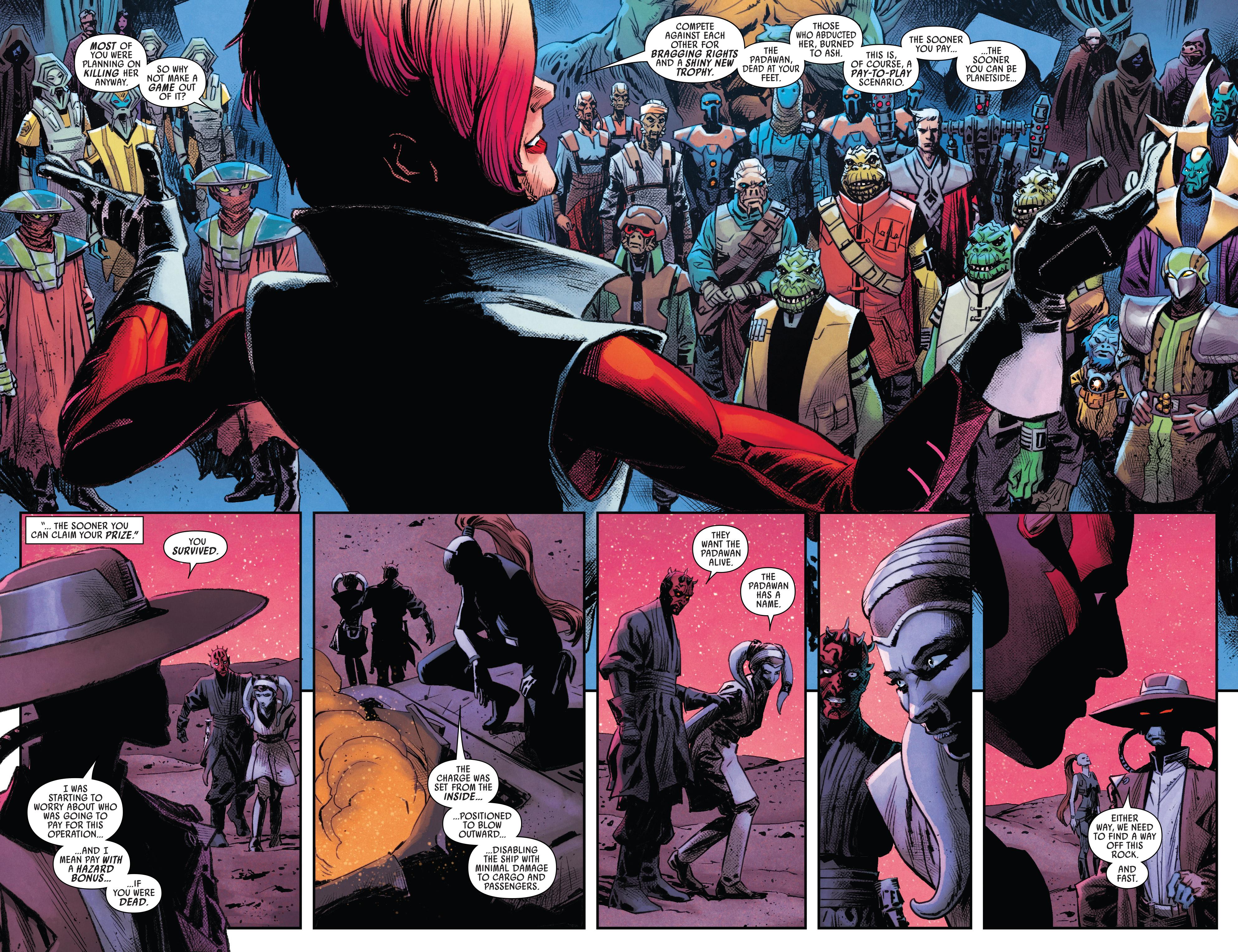 Read online Darth Maul comic -  Issue #4 - 4