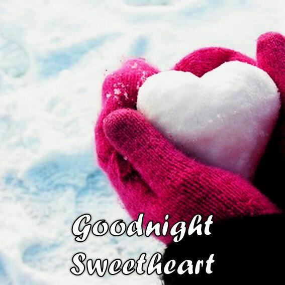 sweet heart good night