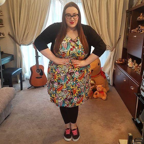 Modcloth Good enough to eat dress plus size