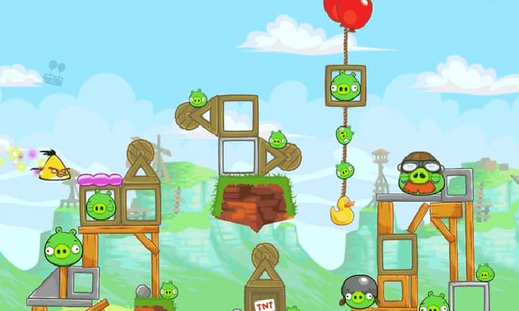 تحميل لعبة الطيور الغاضبة Angry Birds للكمبيوتر والاندرويد والايفون