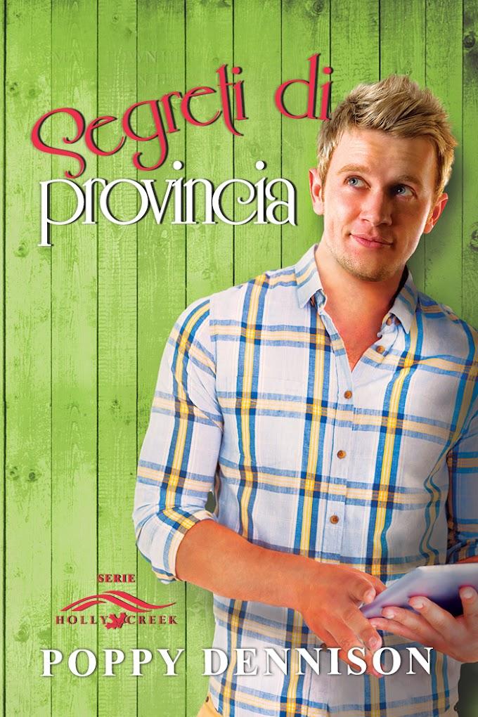 """In uscita il 23 maggio """"Segreti di provincia"""" (Serie Holly Creek #2) di Poppy Dennison"""