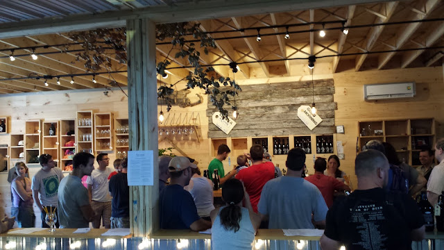 My only visit to Tree House brewing