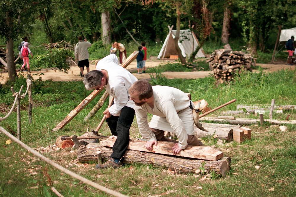 construction d'une maison dans le parc historique d'Ornavik à Hérouville Saint Clair près de Caen