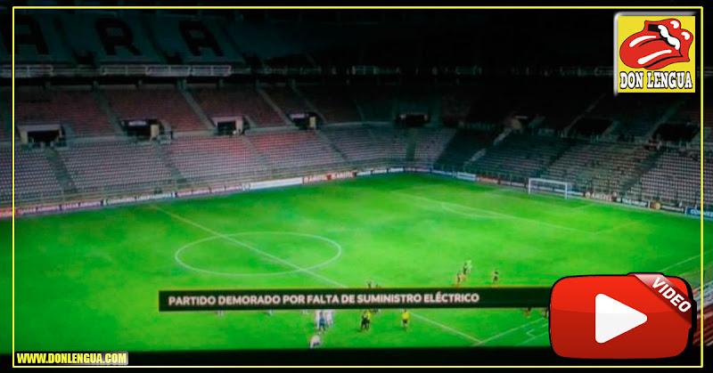 Partido de la Copa Libertadores suspendido por apagón madurista