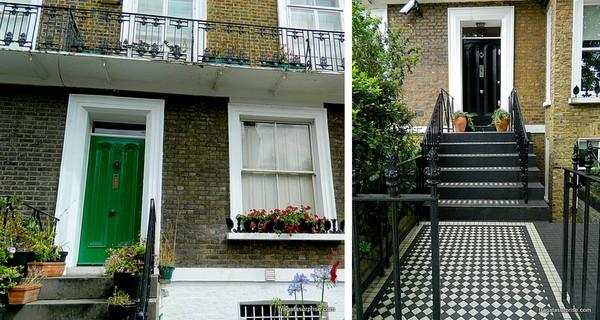 Londres - bairro deNotting Hill