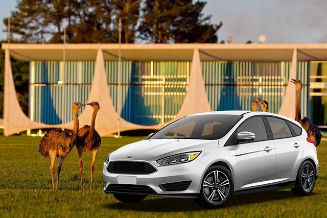 Ford Focus EcoBoost 2017 SelecShift - Palácio da Alvorada - Brasília (DF)