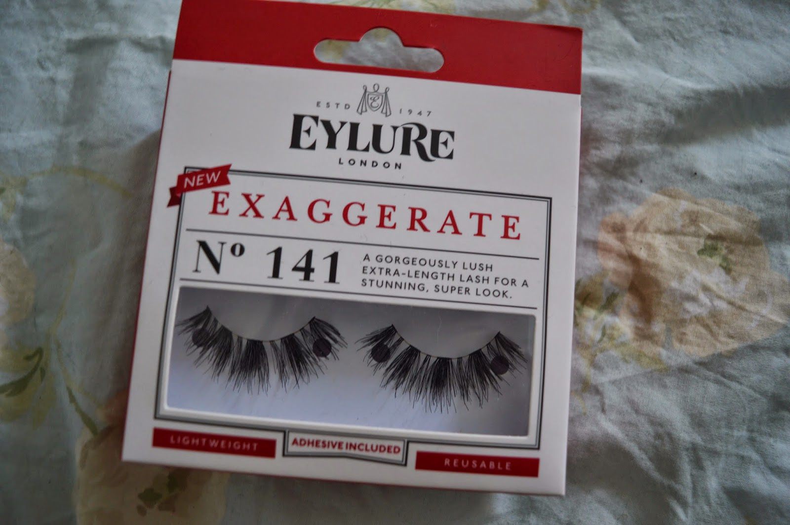 Eylure 141 exaggerate eyelashes