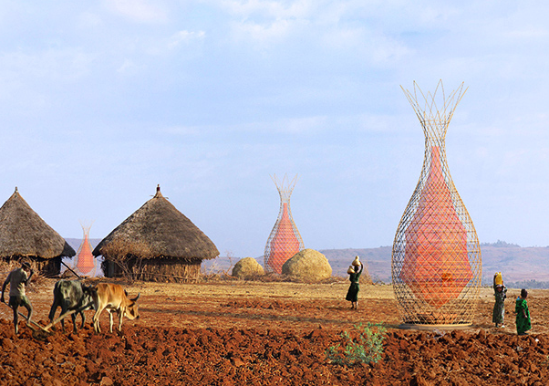 Check Out These Amazing Towers In Ethiopia That Harvest Clean Water From Thin Air