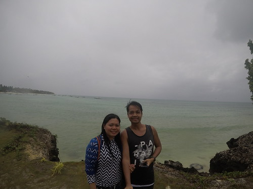 Cliff-diving in Bantayan Island