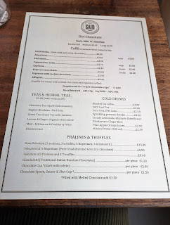 Said London menu