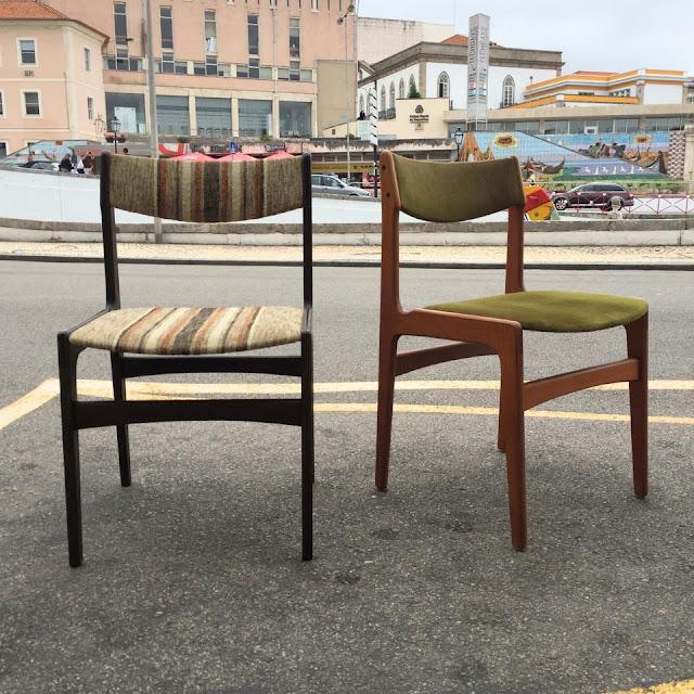 cadeiras, nórdicas, vintage, design nórdico