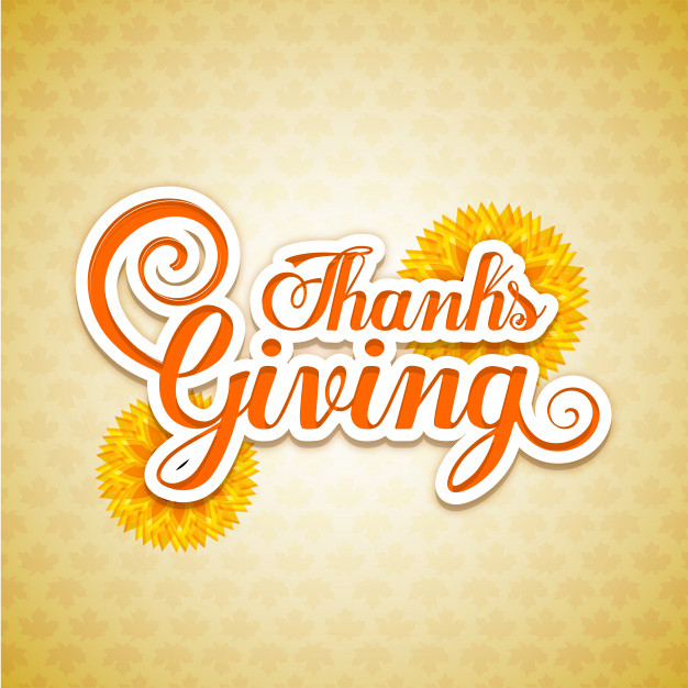Card for Thanksgiving Day Free Vector