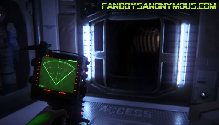 Sega Creative Assembly Alien Isolation gameplay and in-game graphics