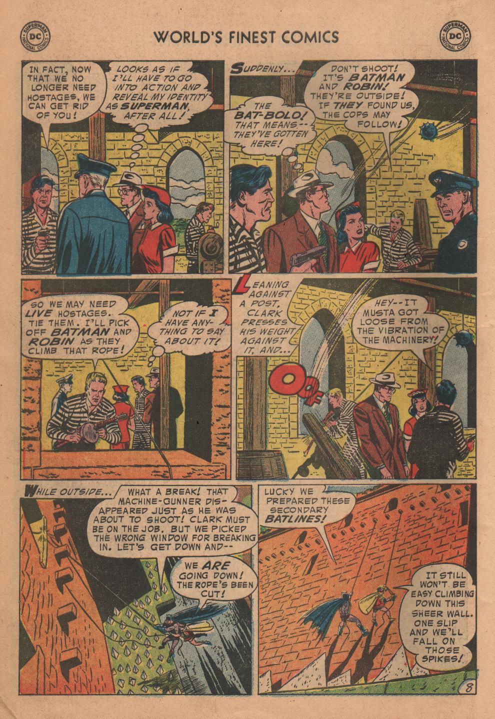 Read online World's Finest Comics comic -  Issue #72 - 10