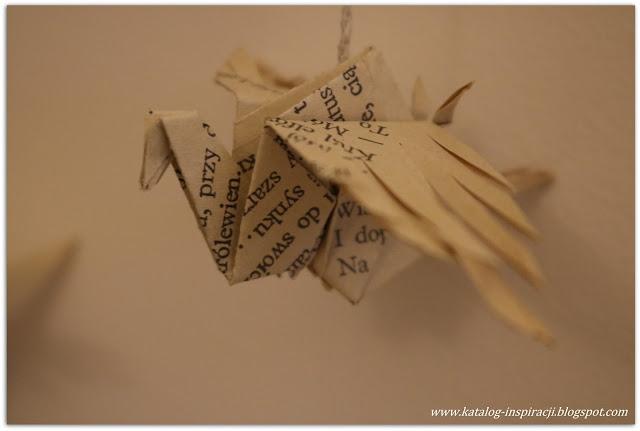 żuraw z papieru