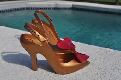 Zapatos de fiesta sencillos