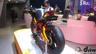 The upcoming bike by Hero with 600 cc