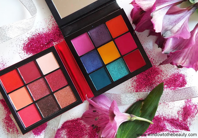Huda Beauty Obsessions Palettes review