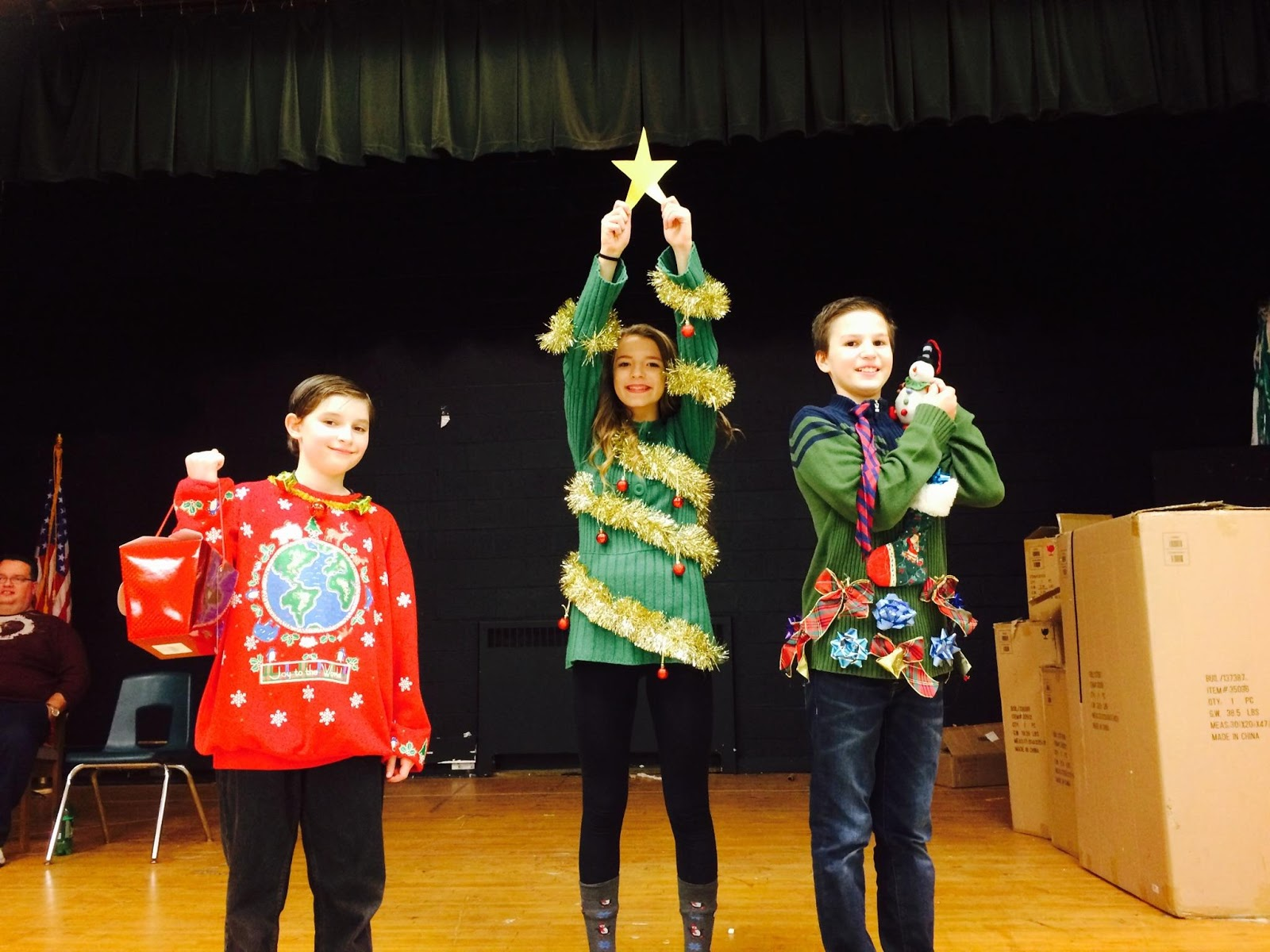 Holy Name Middle School Ugly Christmas Sweater Dance