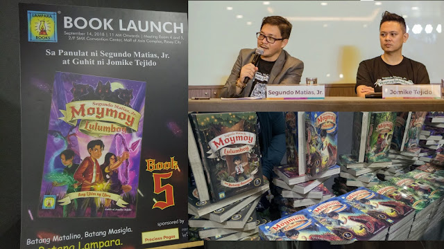 Moymoy Lulumboy Book 5 launch