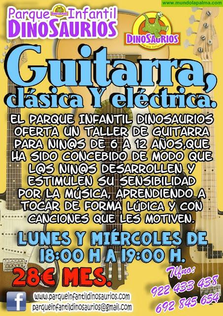 DINOSAURIOS, Taller de Ukelele y Guitarra