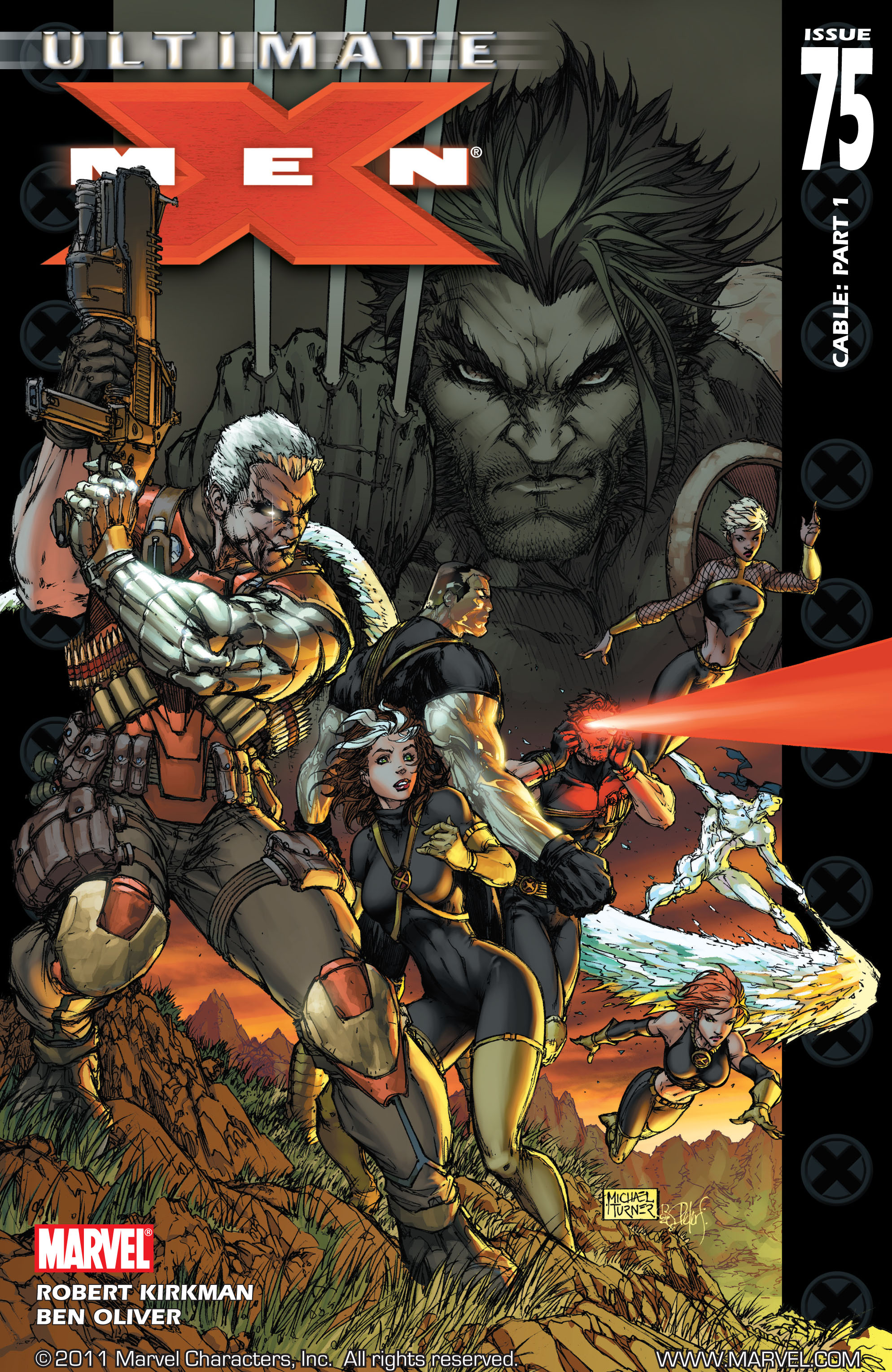 Read online Ultimate X-Men comic -  Issue #75 - 1