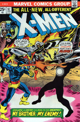 X-Men #97, Havok vs Cyclops