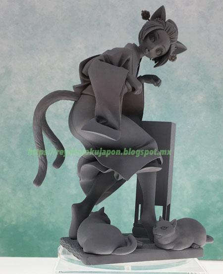 Figura Nekomata Okoi Oboro Muramasa Front view