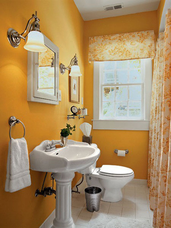Hogares frescos 30 ideas para cuartos de ba os peque os y for Decoraciones de banos modernos sencillos