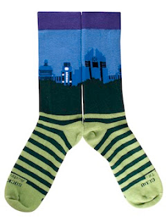 The Austin Skyline Sock