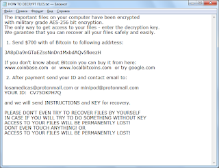 SEND.ID.TO Ransomware note записка