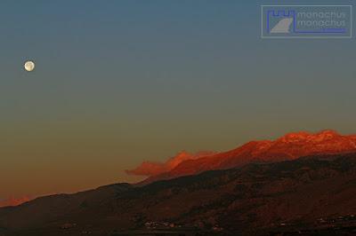 last full moon - December 2016, Sfakia