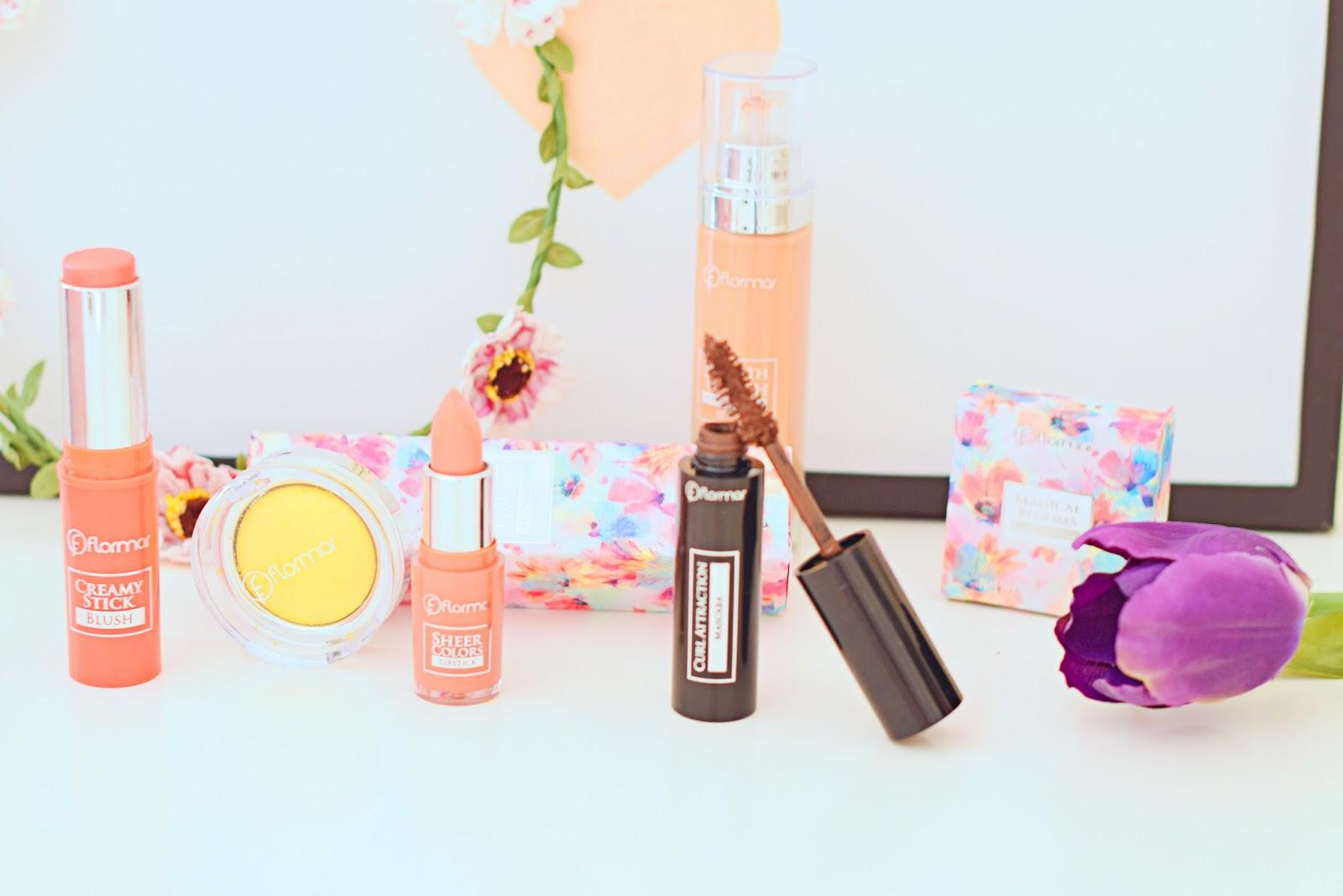 nery hdez, flower tales, flormar, maquillaje primaveral , spring make up,