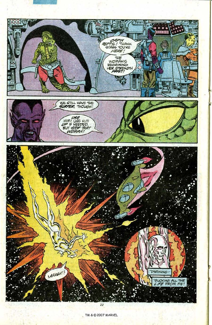 Read online Silver Surfer (1987) comic -  Issue #12 - 24